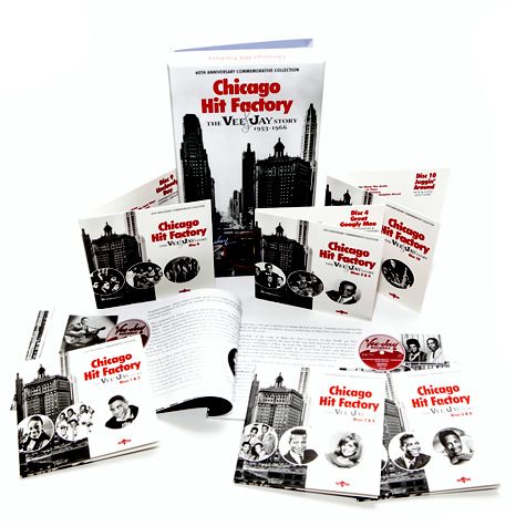 CHICAGO HIT FACTORY The Vee-Jay Story 1953-1966